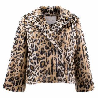 Notes Du Nord Louisa Leopard Print Coat