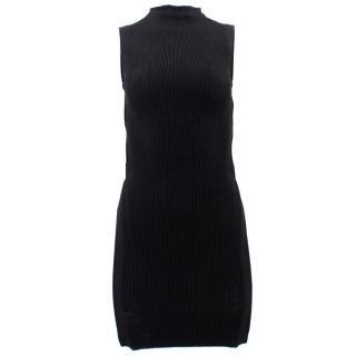 Alexander McQueen Black Bandage Cut Dress