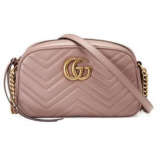 Gucci Marmont Camera Quilted Shoulder Bag