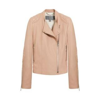 Mulberry Nude Leather Jacket