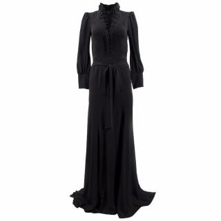 Gucci Silk Black Gown