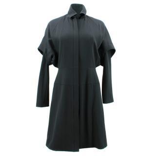 Amanda Wakeley Sculped Tailoring Wool Coat