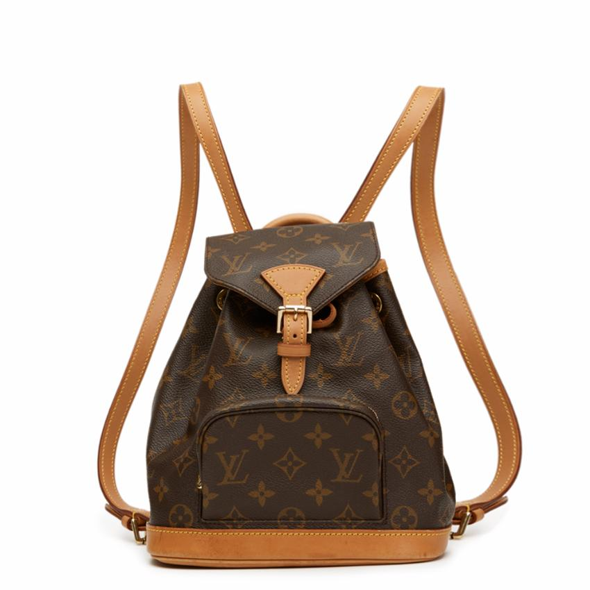 27c809451f58 Louis Vuitton Coated Monogram Canvas Mini Montsouris Backpack