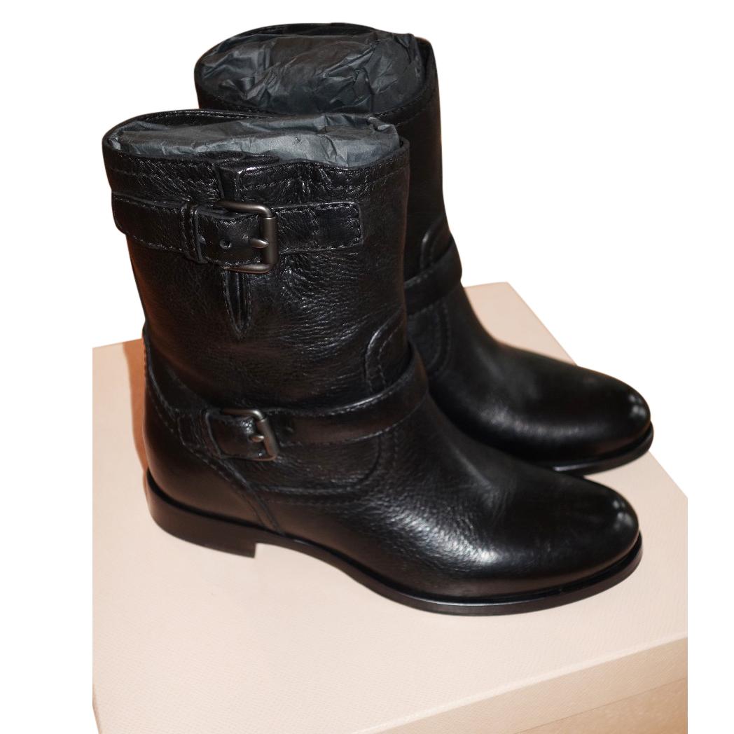 62888e665e6 Prada Ladies Biker Boots