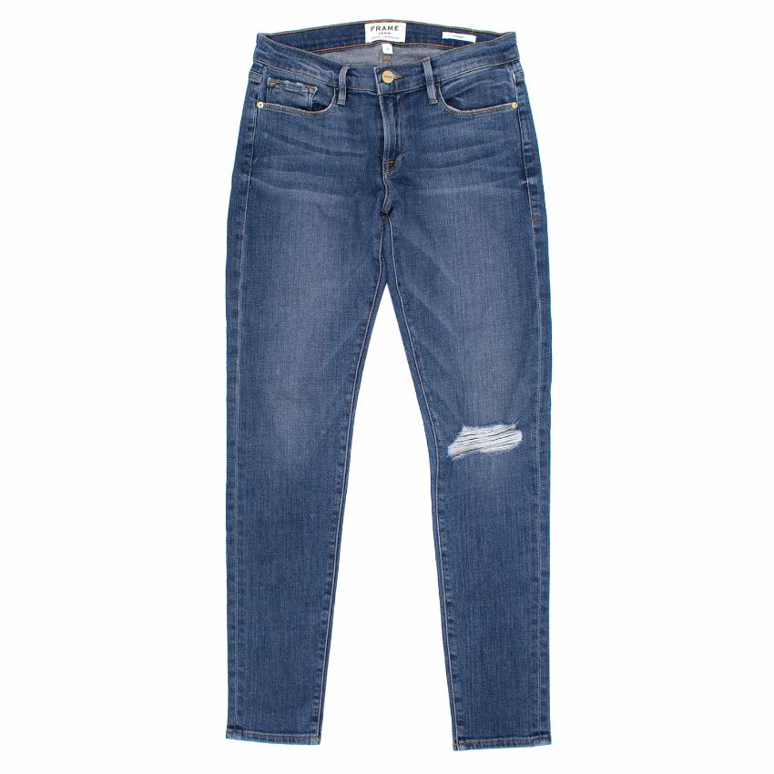Frame Le Garcon Distressed Jeans