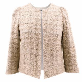 Chloe Silk and Linen Jacket