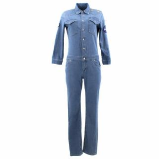 Donna Ida Patched Sady Boiler Suit