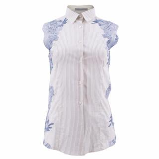 Ermanno Scervino Lace Embroidered Shirt