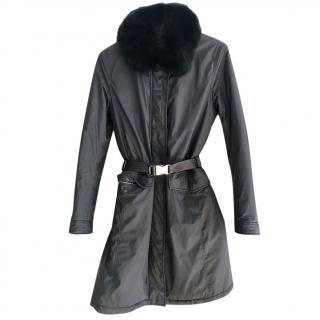 Prada black winter jacket