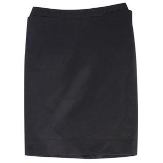 YSL Black Pencil Skirt
