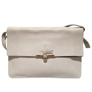 Large Celine clasp fold over bag