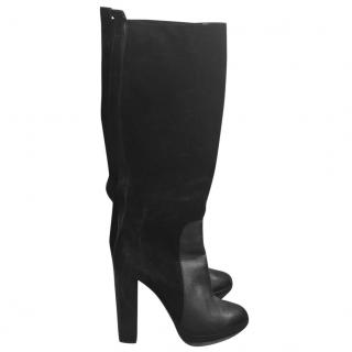 Lanvin black over the knee boots