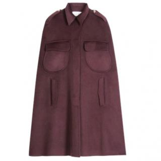 Yves Saint Laurent cashmere cape coat