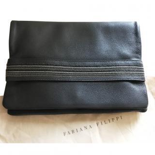 Fabiana Filippi Leather clutch