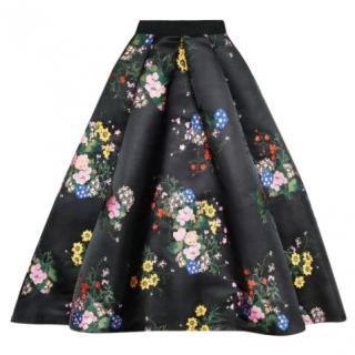 Erdem H&M jacquard printed skirt