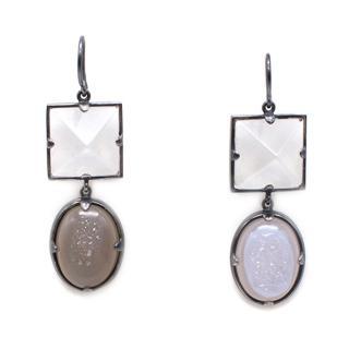 Bottega Veneta Sterling Silver Beaded Earrings