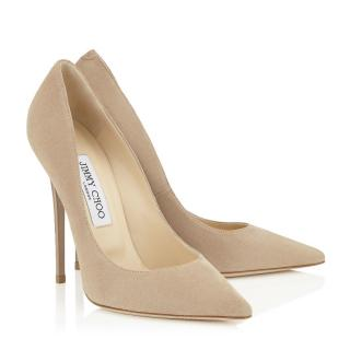 Jimmy Choo nude Anouk Pumps