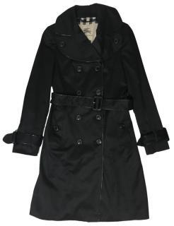 Burberry Black Trench Coat