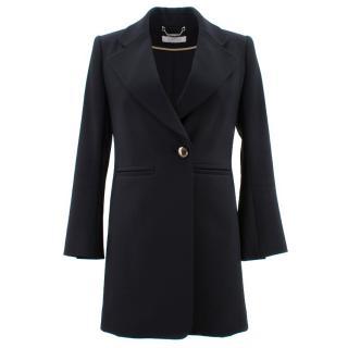 Chloe Single Button Blazer Jacket
