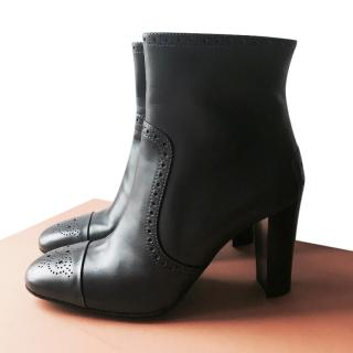 Tom's grey ankle boots