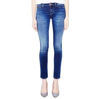 MIH Bonn Blue High Rise Super Skinny Jeans