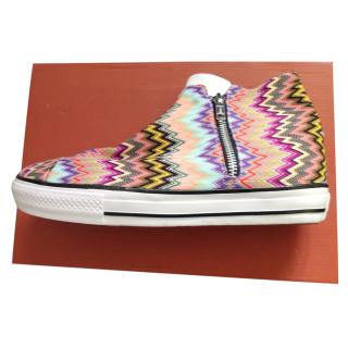 Missoni converse trainer boots