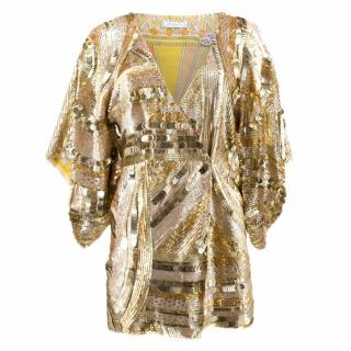 Emilio Pucci Gold Sequinned Jacket