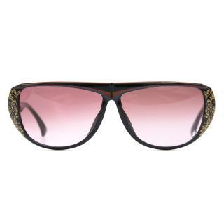 Christian Dior Pattern Sunglasses