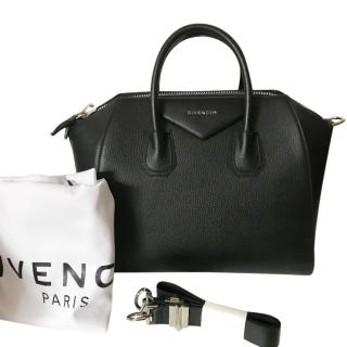 GIVENCHY Black Antigona Medium