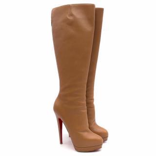 Christian Louboutin Camel Alti Botte Boots