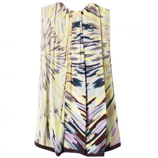 Missoni Silk Strapless Dress
