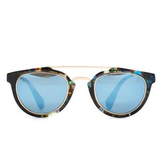 Taylor Morris Rollright Sunglasses in Wonderland Blue