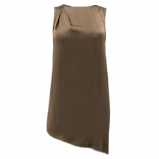 Helmut Lang Mere Silk Double Layer Top