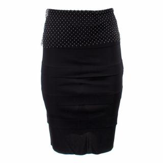 Balmain Embellished Crystal Skirt
