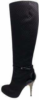 Giuseppe Zanotti Quilted Cameo Detail Boots