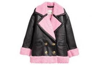 Keno H&M Pink Aviator Jacket