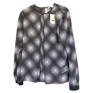 Michael Michael Kors navy/white long sleeved top