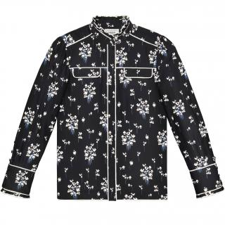 Erdem X H&M Silk Floral Blouse