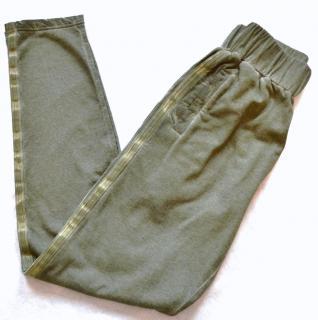 Bottega Veneta Runway Khaki Cotton-Wool Casual Trousers