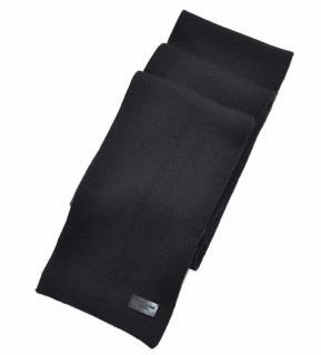 Saint Laurent Black Wool Scarf