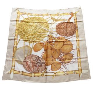 Hermes Hardin Creole Silk Scarf