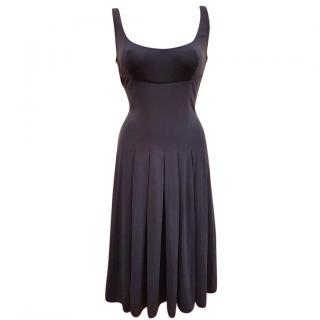 Amanda Wakeley Blue Silk Dress