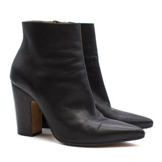Maison Martin Margiela Black Pointed Ankle Boots