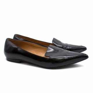 Phillip Lim Black Patent Leather Pointed Loafers