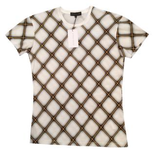 Jonathan Saunders Checked T-Shirt