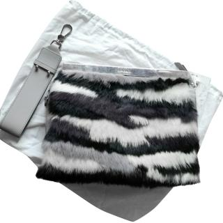 Max & Co fur hand bag