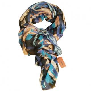 Missoni silk modal scarf