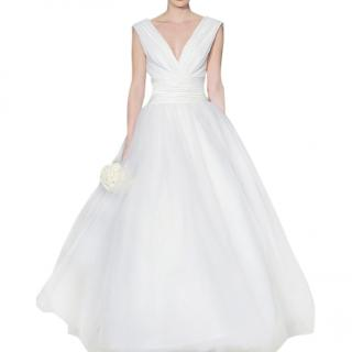 Carolina Herrera Chloe wedding dress