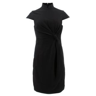 Shanghai Tang Fitted Ruched Dress