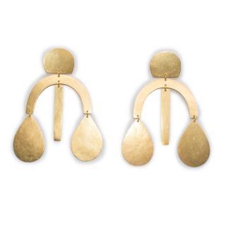 ACB Mini Arc Drop Chandelier Earrings